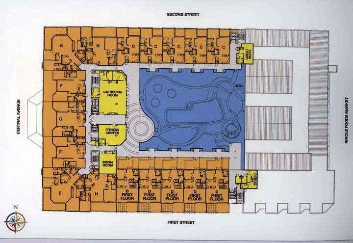 100 Central Sarasota Floor Plans